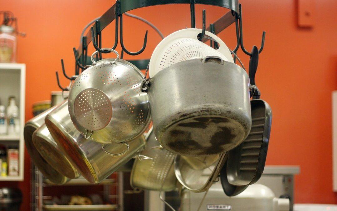 Como limpar os utensílios de cozinha de forma eficiente